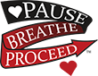 Pause Breathe Proceed Logo