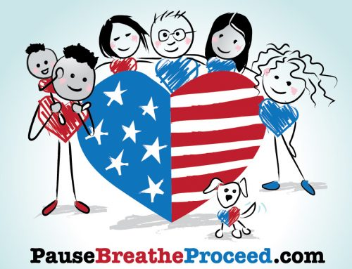 Mending Our Nations Heart, Pause Breathe Proceed to Renew